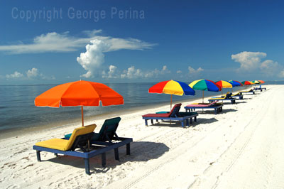 Biloxi Beach Umbrellas